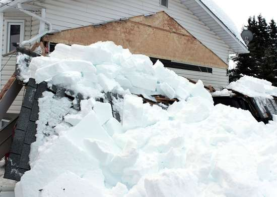Prevent Roof Collapse from Snow