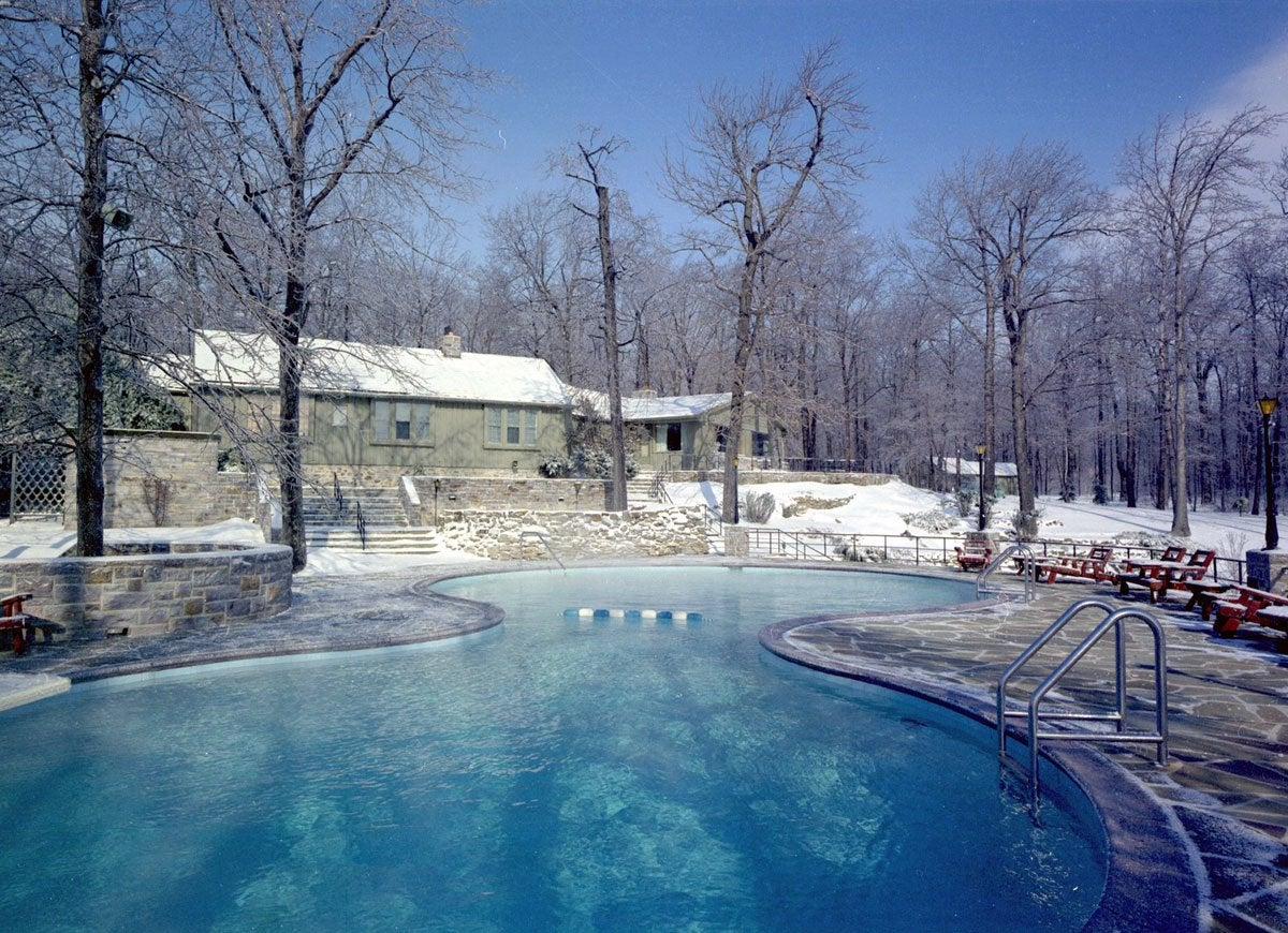 Camp david winter