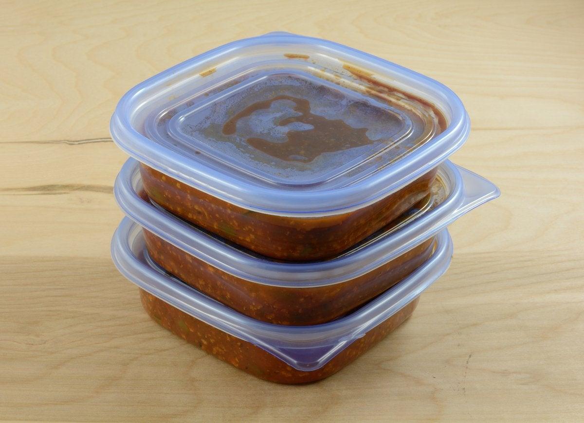 Leftover spaghetti sauce