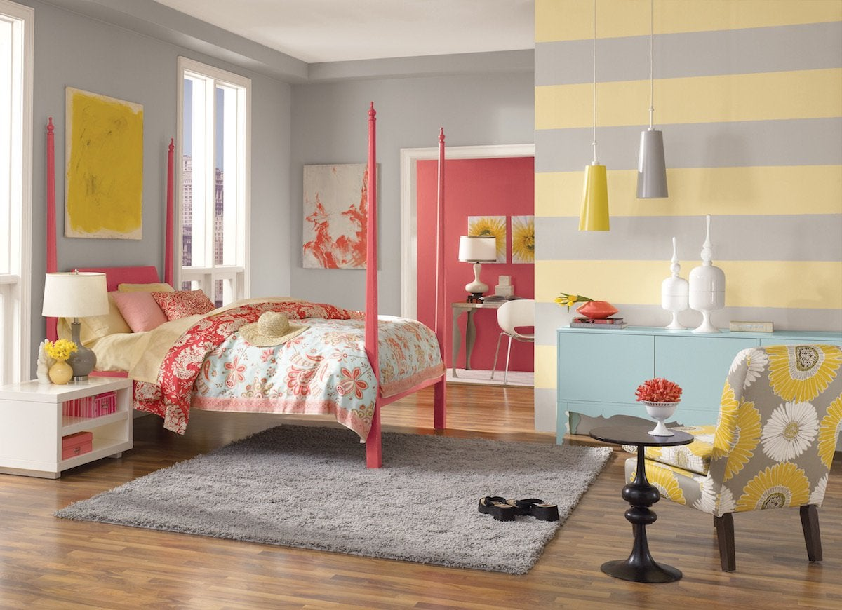 Sherwin williams bedroom friendly yellow sw6680