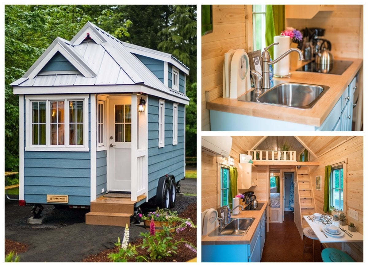 Zoe tumbleweed tiny house