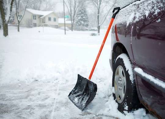 How to Dig Car Out of Snow