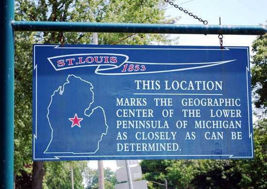 Motto of St. Louis, Michigan