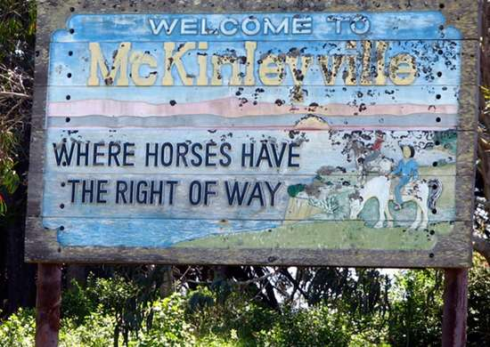 Motto of McKinleyville, California