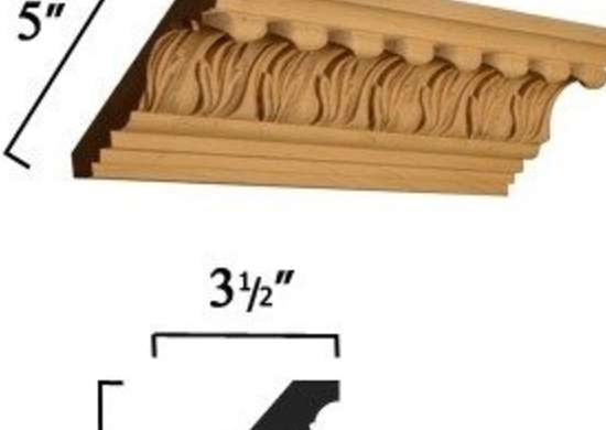 acanthus leaves molding