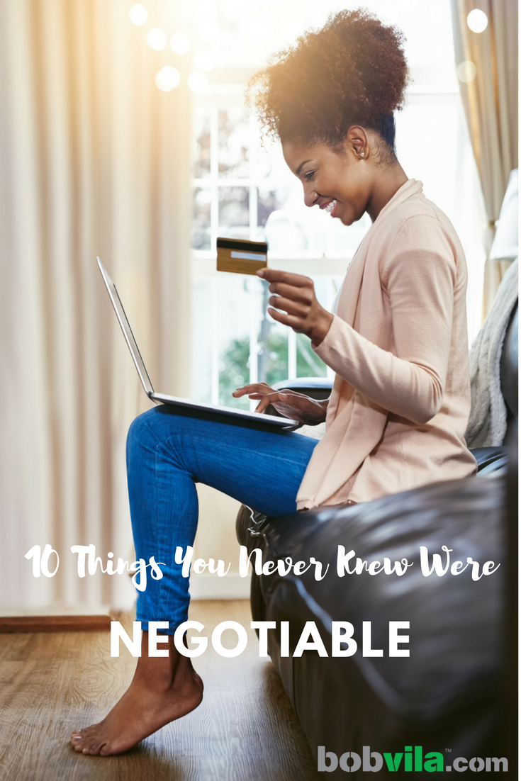 Things you never knew were negotiable