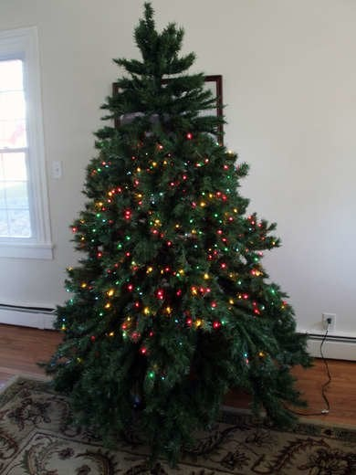 String Christmas Tree Lights Vertically : Christmas Tree String Lights - Christmas Decore