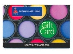 Sherwin williams gift card