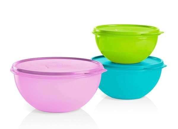 Tupperware Storage Bowls