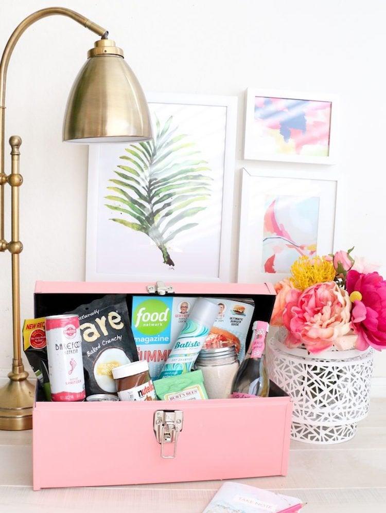 Minibar guest room