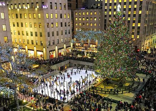 Rockefeller Center Tree in New York City