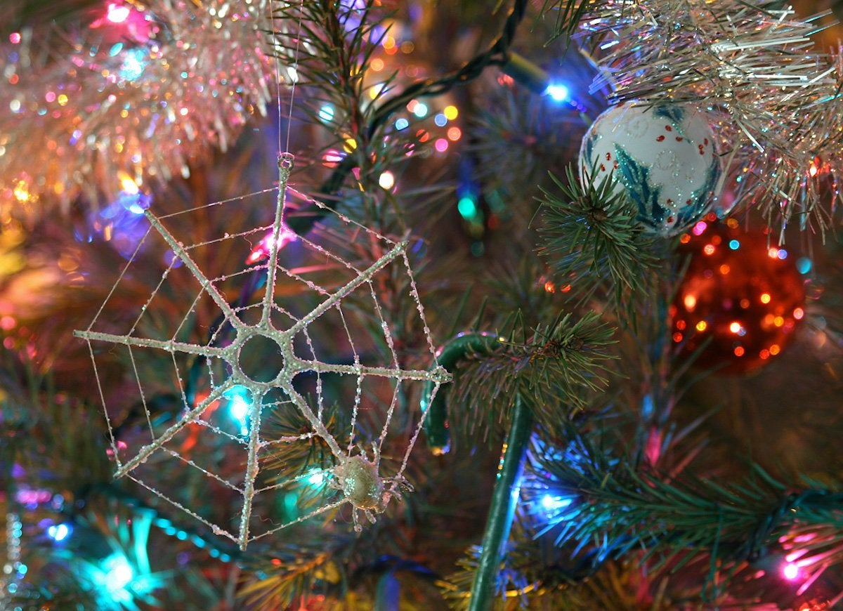 Ukraine spider ornament