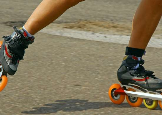 Caracas Roller Skate Christmas
