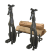 fireplace accessories andirons
