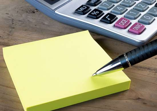Post-it Canary Yellow Color