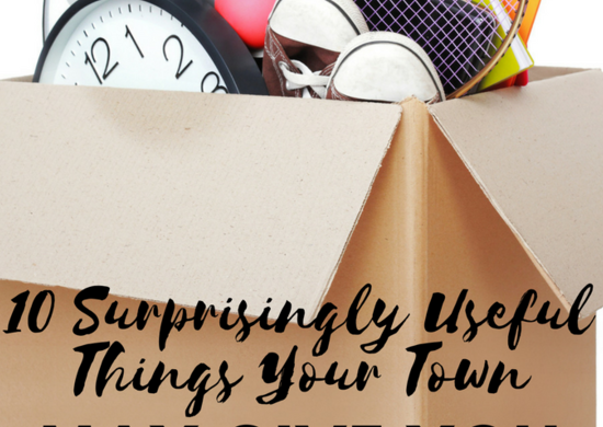 10 surprisingly useful things your town may give you for free