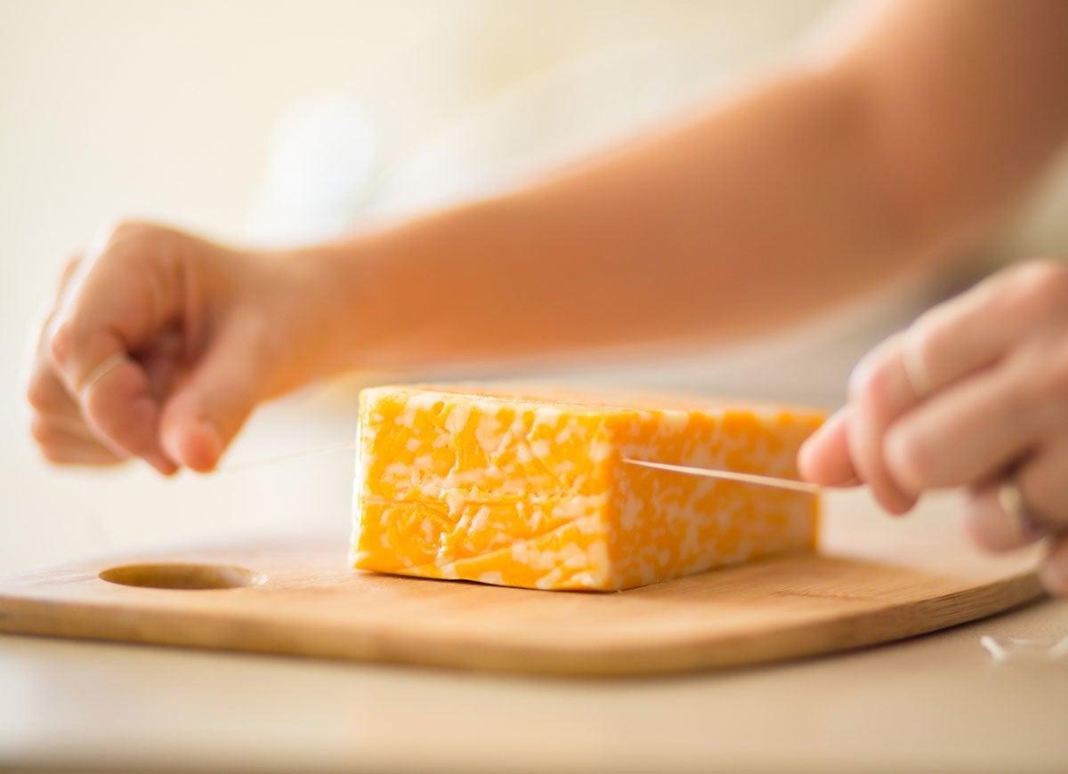 Cut soft foods
