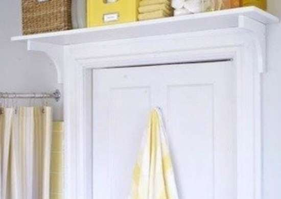 Drmommyonline over door bathroom storage