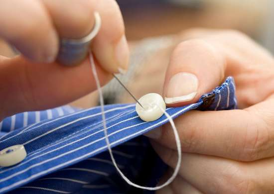 How to Repair Clothing with Floss