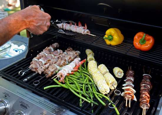 Inspect Gas Grills Annually