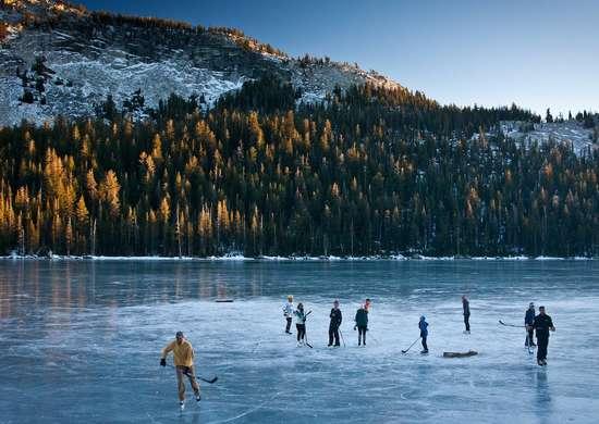Yosemite National Park Winter