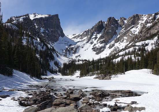 Rocky Mountain National Park Winter