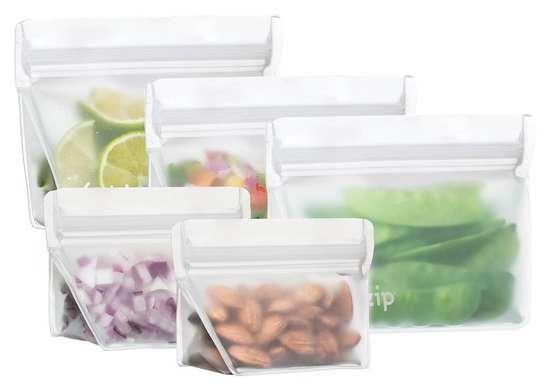 Blue Avocado's Reusable Zip Bags