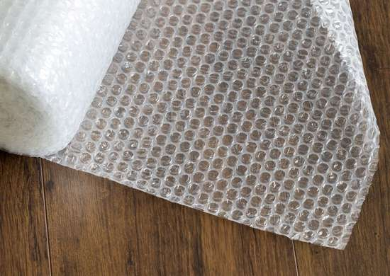 How to Keep Groceries Cold with Bubble Wrap