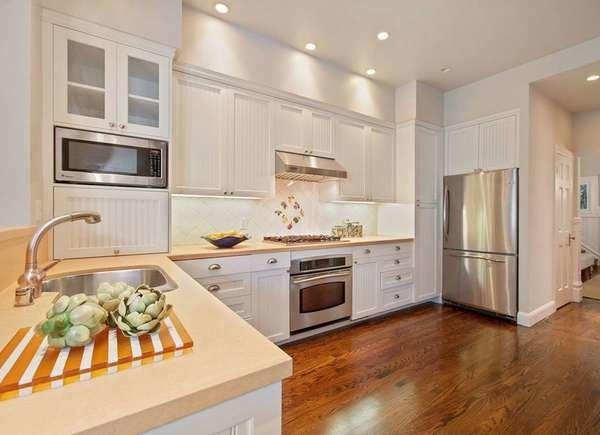 All-White Kitchens