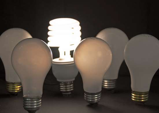 Switch to CFL or LED Lightbulbs