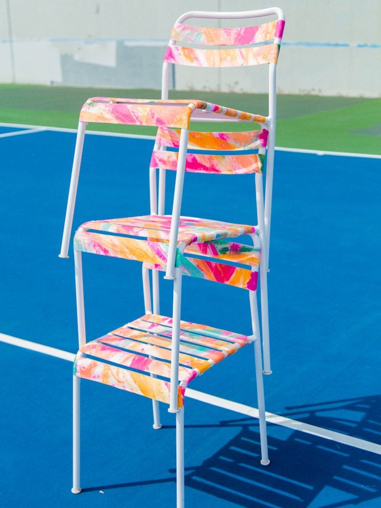 Painted ikea chairs
