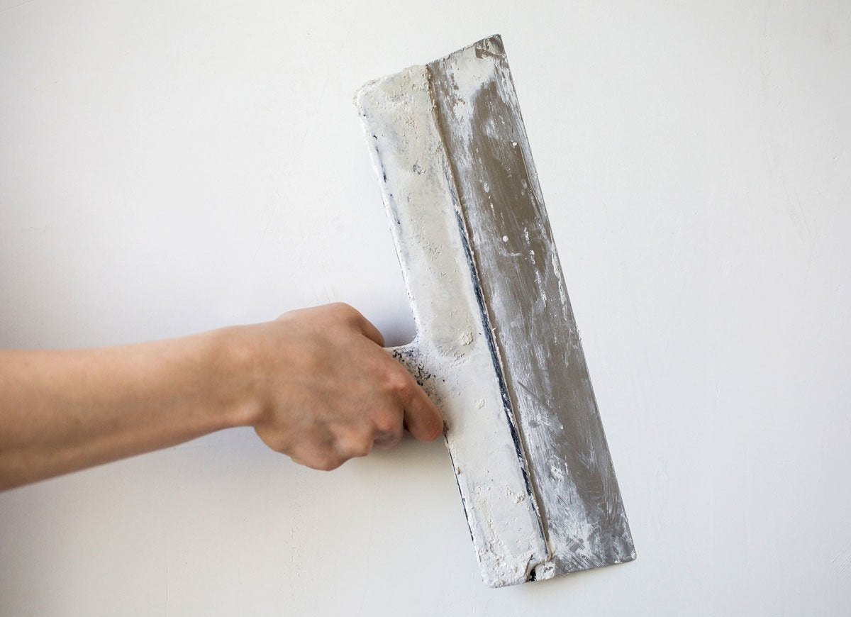 Asbestos wallboard
