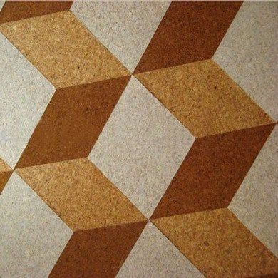 Cork floor options trending now bob vila for Cork floor tiles