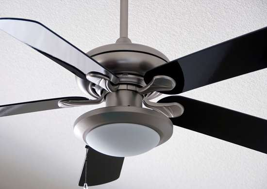 Reverse Ceiling Fan Blades in Winter