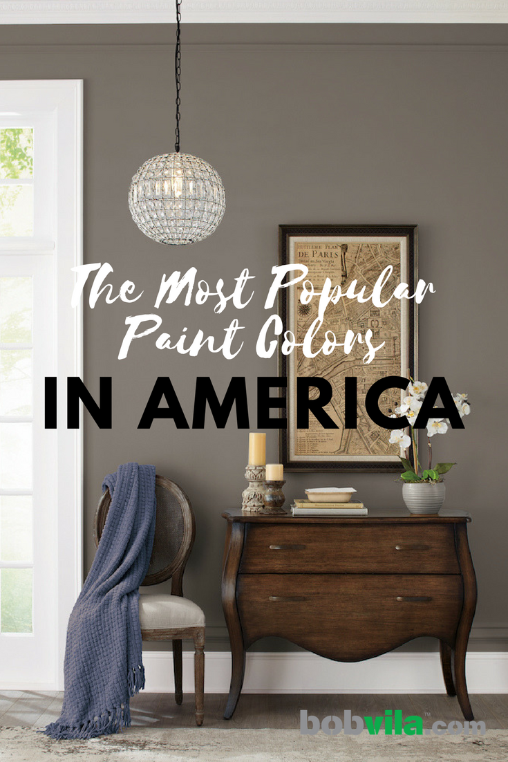 The most popular paint colors in america