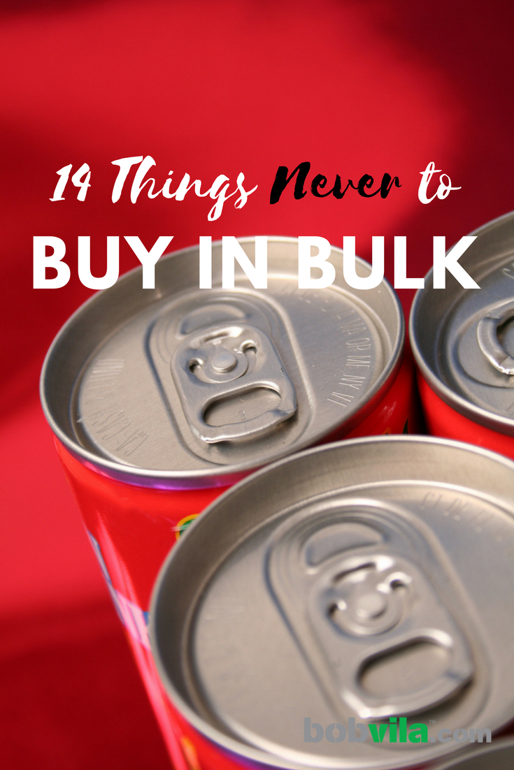 14 things never to buy in bulk