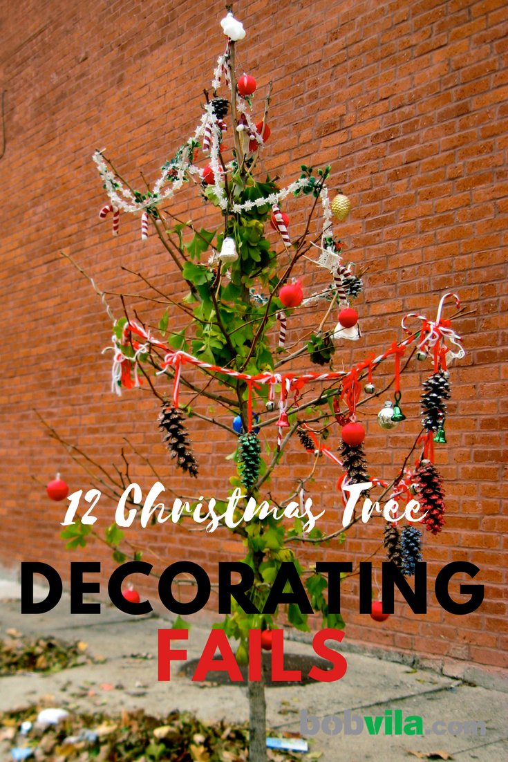 12 christmas tree decorating fails