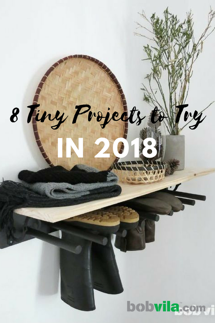 8 tiny projects to try in 2018