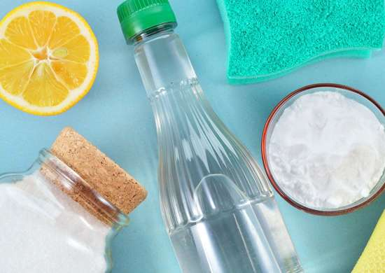 Bathroom odor cleaning