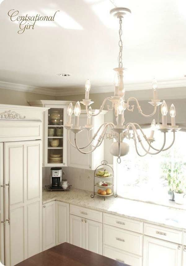 How to Paint a Lighting Fixture