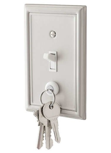 Keycatch magnetic key hanger
