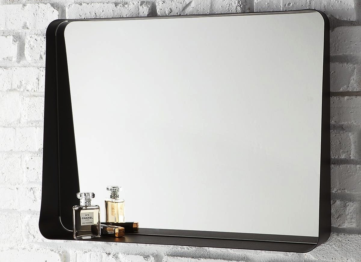 Container store wall mirror
