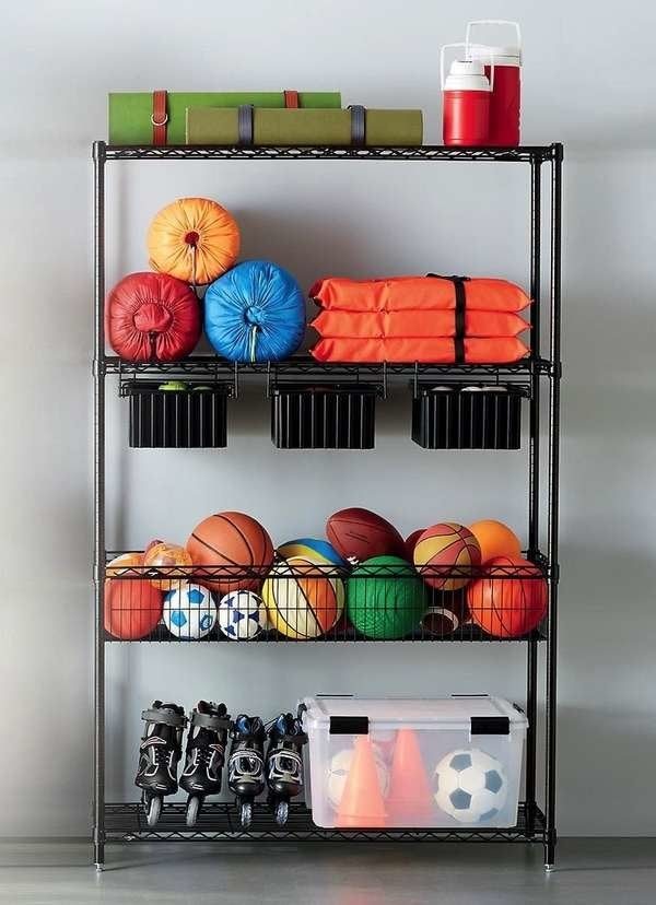 Garage Solution with Drawers