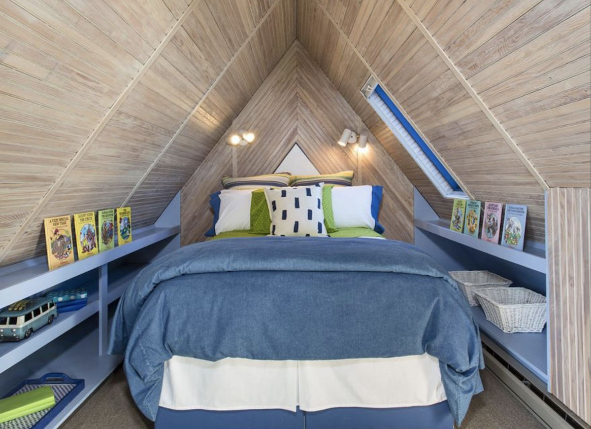 Contemporary guest room