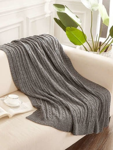 Best Cable Knit Blanket