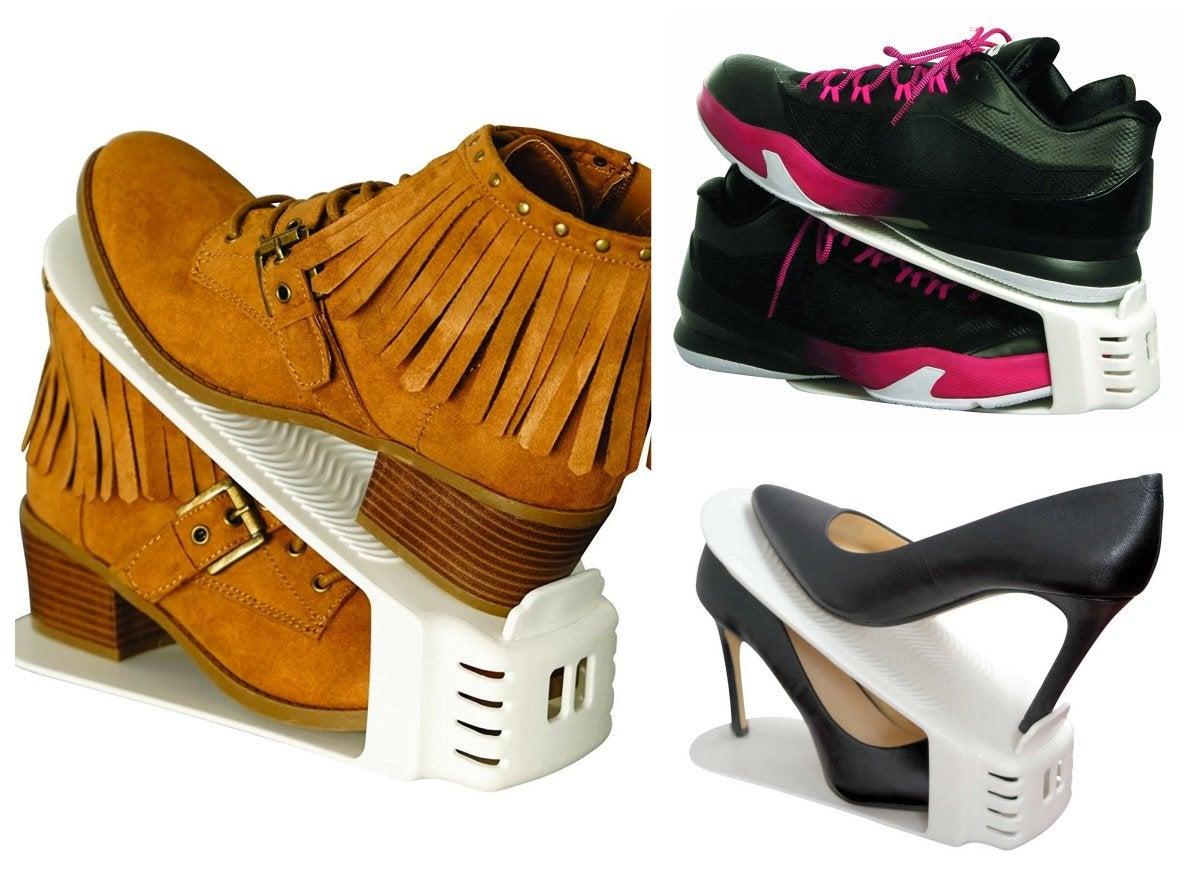 Shoe slotz storage