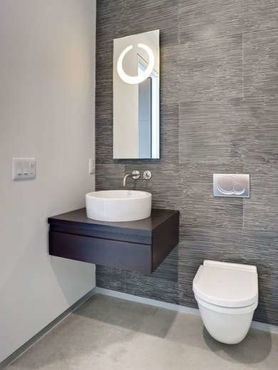 Modern Tiny Bathroom