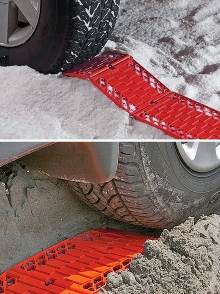 Emergency tire traction