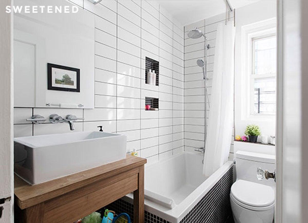 Small bathroom ideas bob vila - Small bathroom ideas with tub ...