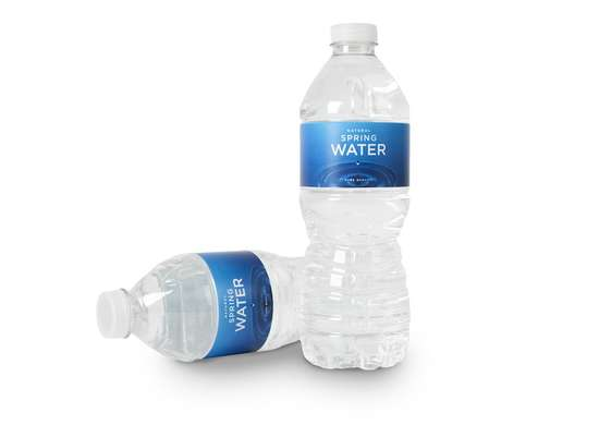 Bottled Water in Cold Car